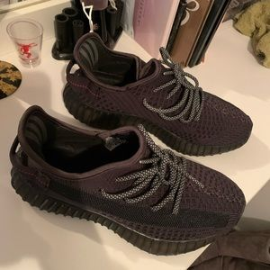 adidas Shoes - Black Yeezy 350